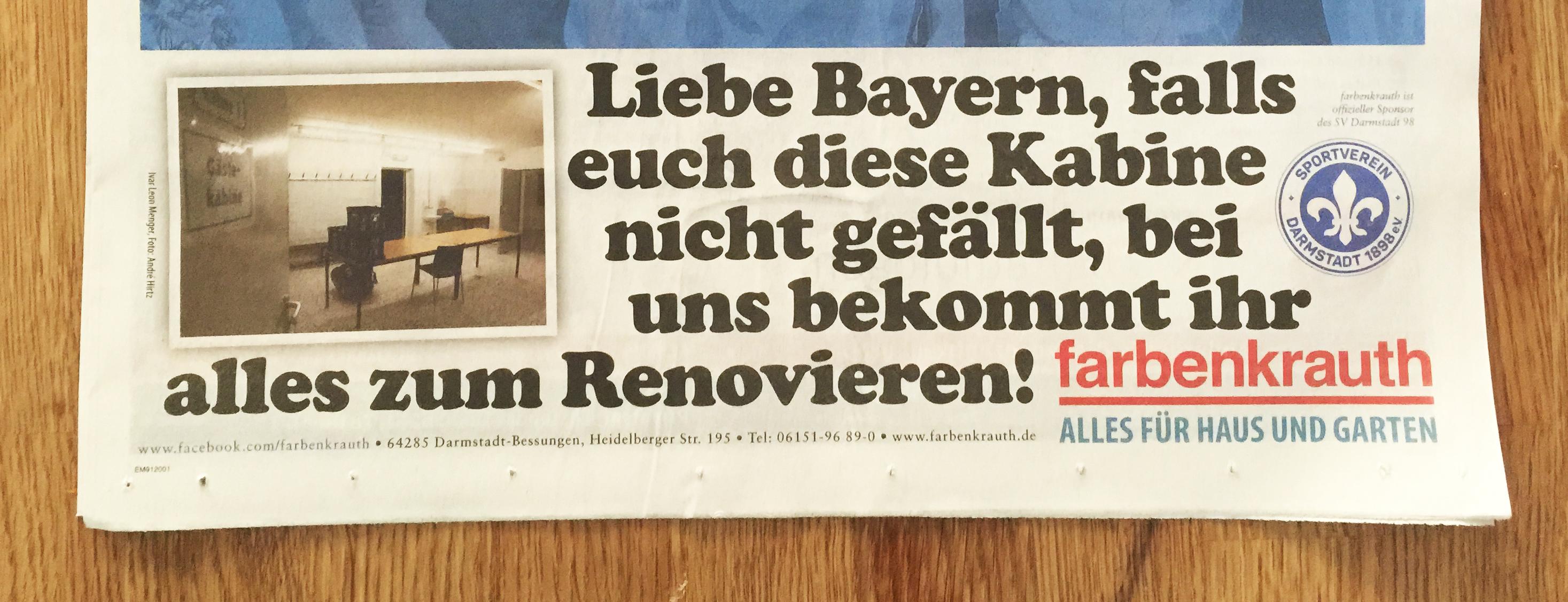 Bayern München vs Lilien